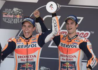 Pedrosa and Márquez on the podium for Honda in Jerez