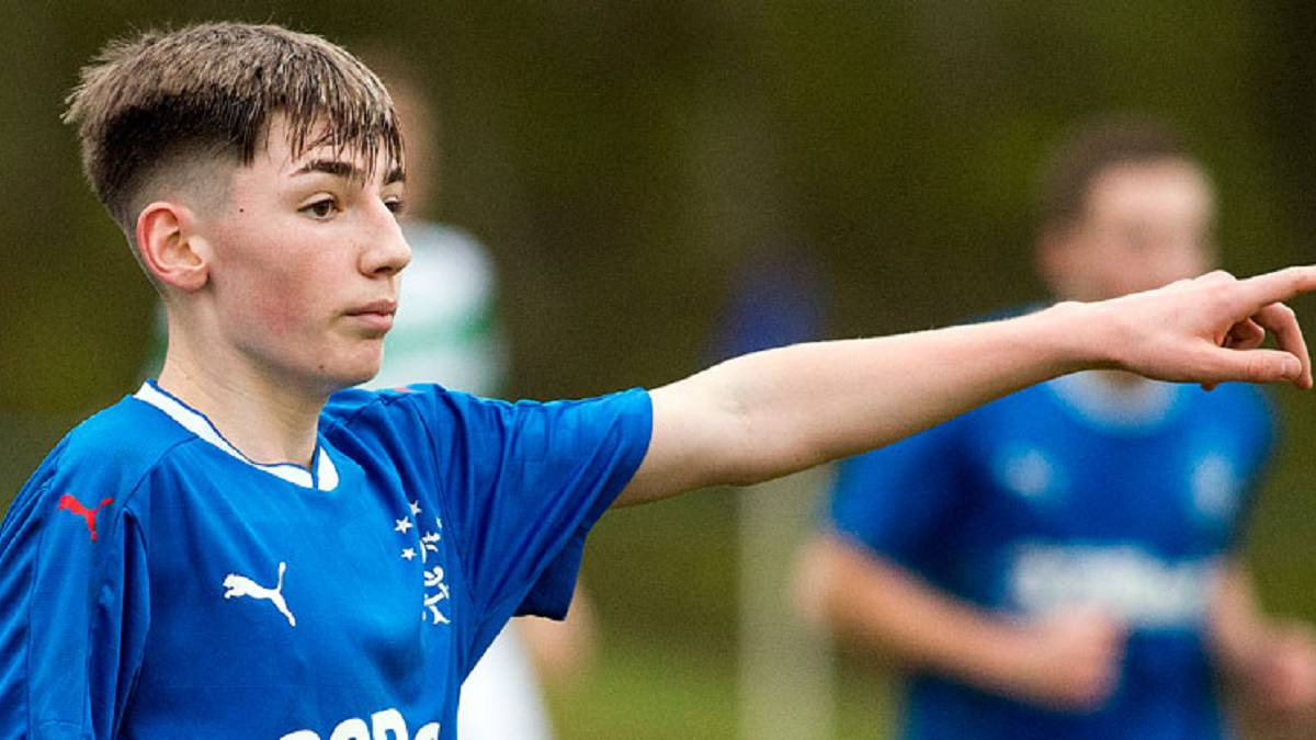 Billy Gilmour: Chelsea sign 15-year-old Rangers prodigy