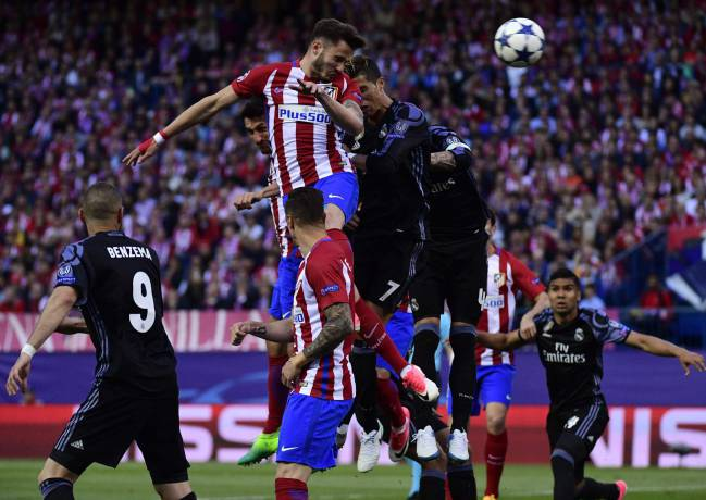 Saúl and Griezmann scored early to give Atlético hope of a comeback, but Isco stabbed home a rebound before half time to assure Madrid's path to Cardiff.