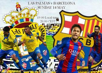 Las Palmas v Barcelona: How to watch