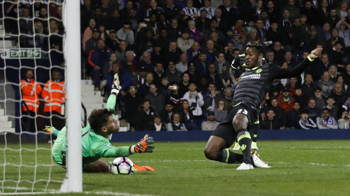 West Brom 0-1 Chelsea Premier League Champions match report: Chelsea win the league with late Batshuayi goal