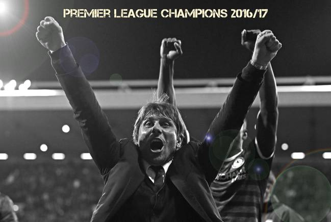 Antonio Conte comes and conquers the Premier League at the first time of asking.