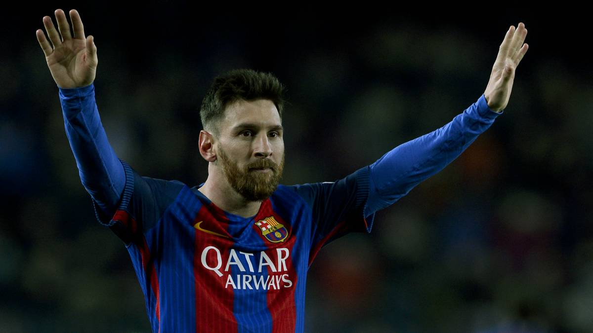 Leo Messi voted LaLiga player of the month for April