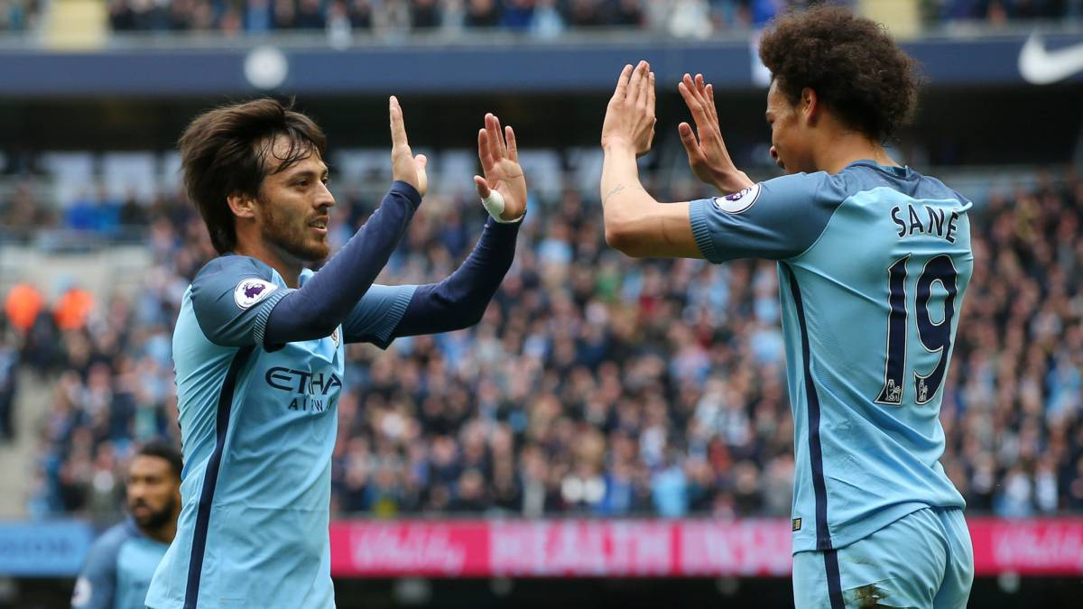 Premier League: Manchester City 2-1 Leicester match report and goals