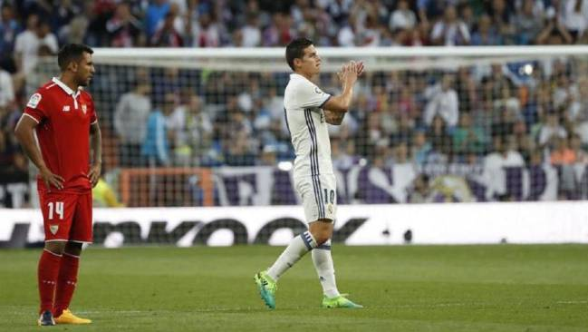 James says goodbye to the Bernabéu