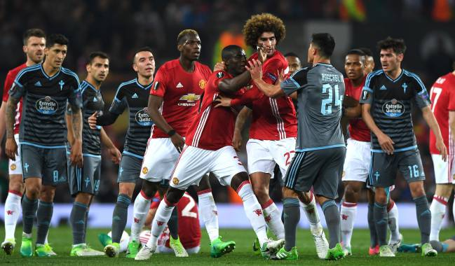 Manchester United beat Celta to reach the Europa League final, but Mourinho's calculated style of play is not missed at Zidane's flying Real Madrid.
