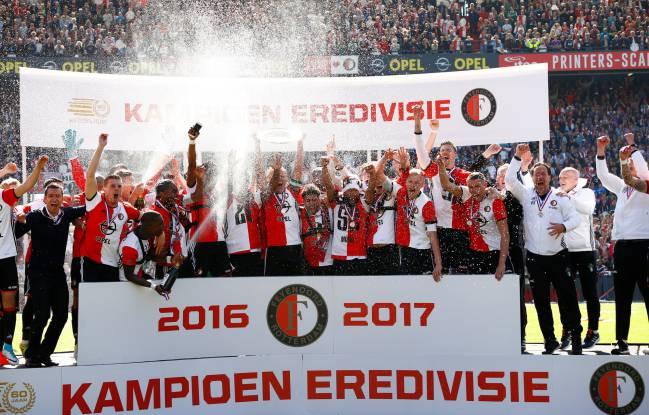 Image result for Feyenoord Rotterdam champions eredivisie