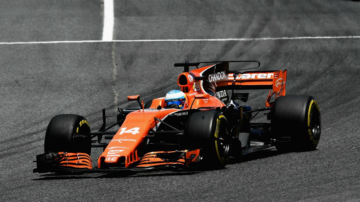Alonso hopes his first finish boosts McLaren's 2017 season