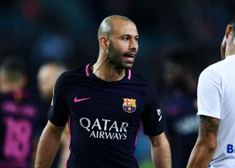 Mascherano's season could be ended by hamstring problem