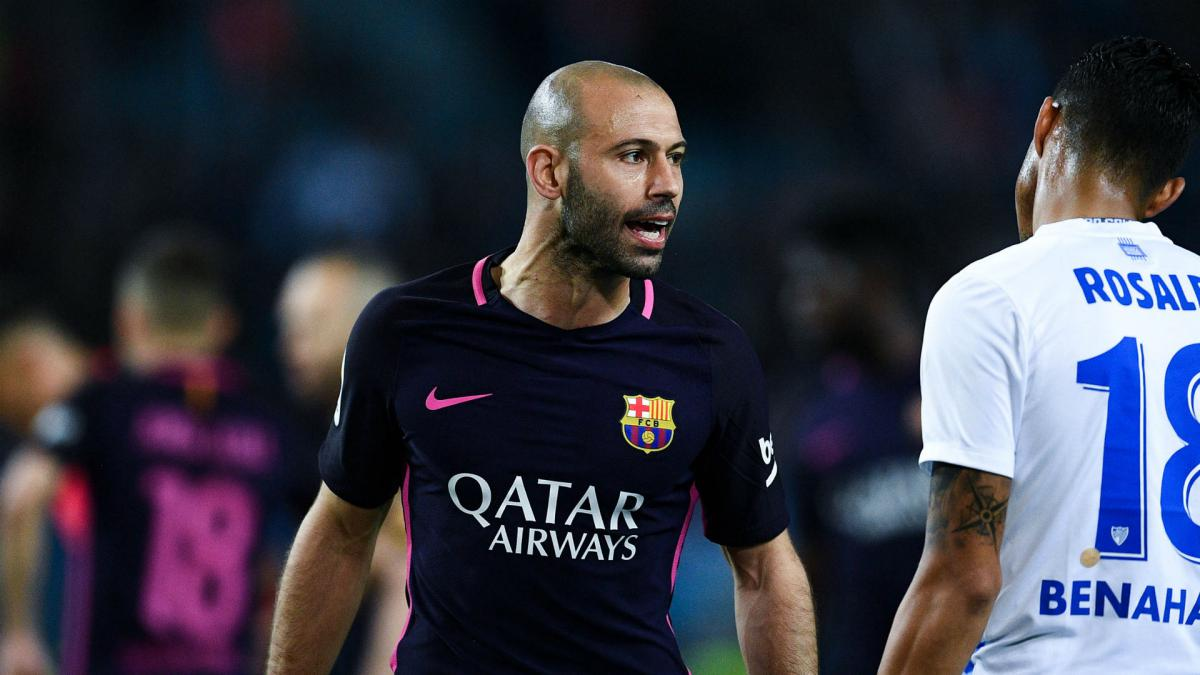 Barcelona to wait on Mascherano hamstring problem