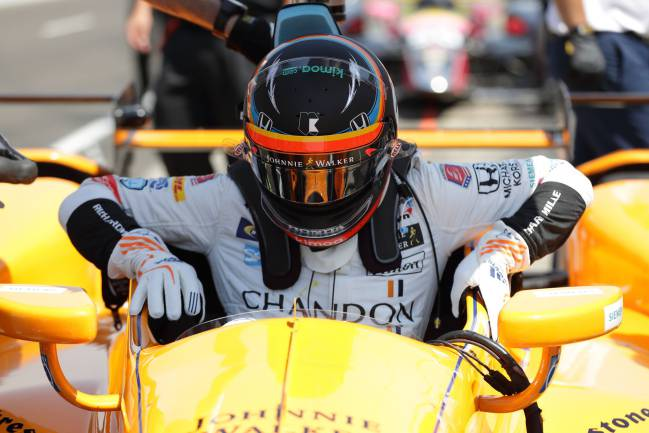 Fernando Alonso has begun his adventure in Indianapolis, and made a strong start as he recorded a top speed of 221.634 mph in his first practice session.