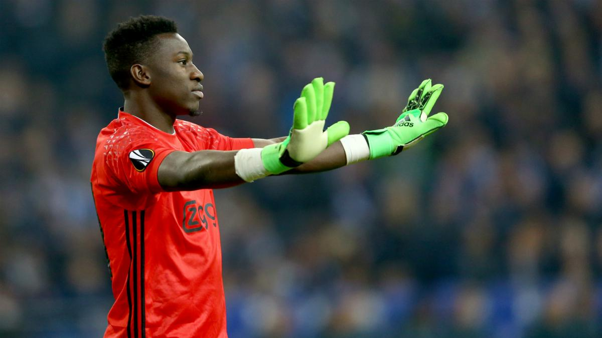 Onana signs Ajax renewal until 2021