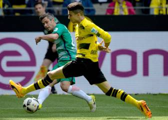 Dortmund's Marc Bartra makes return to first team action
