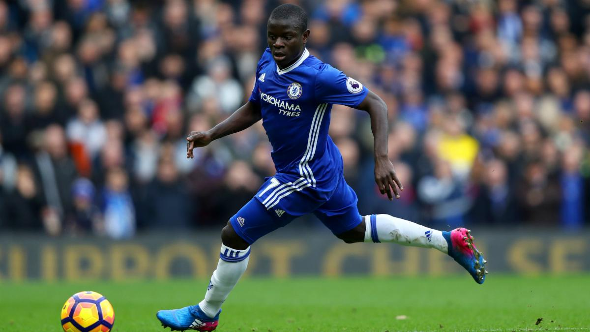 Chelsea's Kante named Premier League Player of the Season