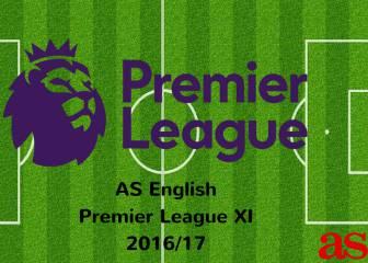 Premier League 2016/17 team of the season