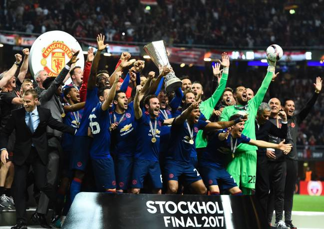 Ajax 0-2 Manchester United: Europa League final as it
