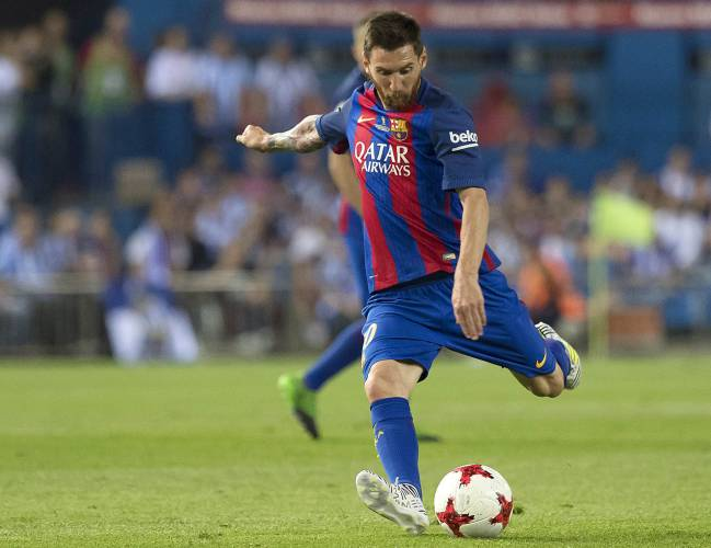 Messi, Neymar, and Alcácer found the net to hand Barça a third consecutive Copa del Rey title, while Theo Hernández scored a free-kick for Alavés.