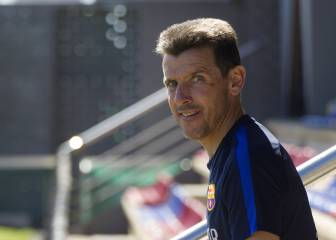 New Celta coach Unzué, fourth with Barça background