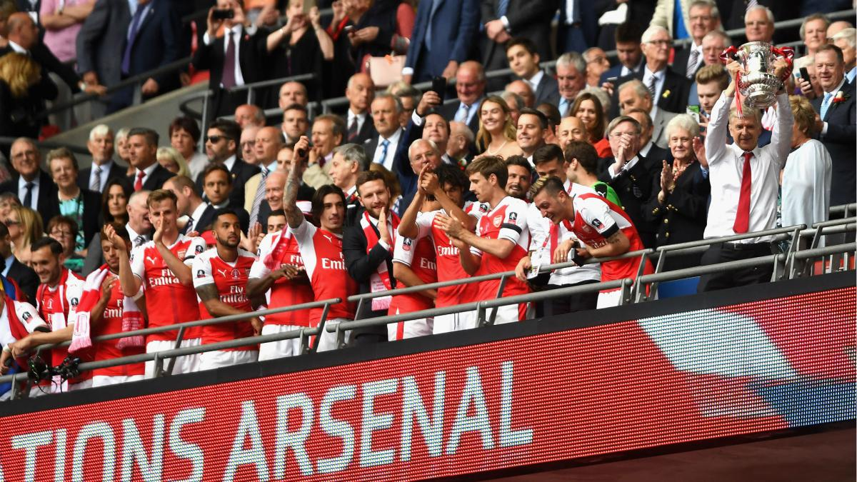 Arsenal and Wenger set new FA Cup records