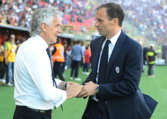 Allegri turns focus to Champions League after 'beautiful' season