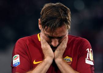 Francesco Totti's emotional AS Roma goodbye