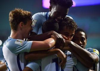 Lookman double sees England young Lions into quarters