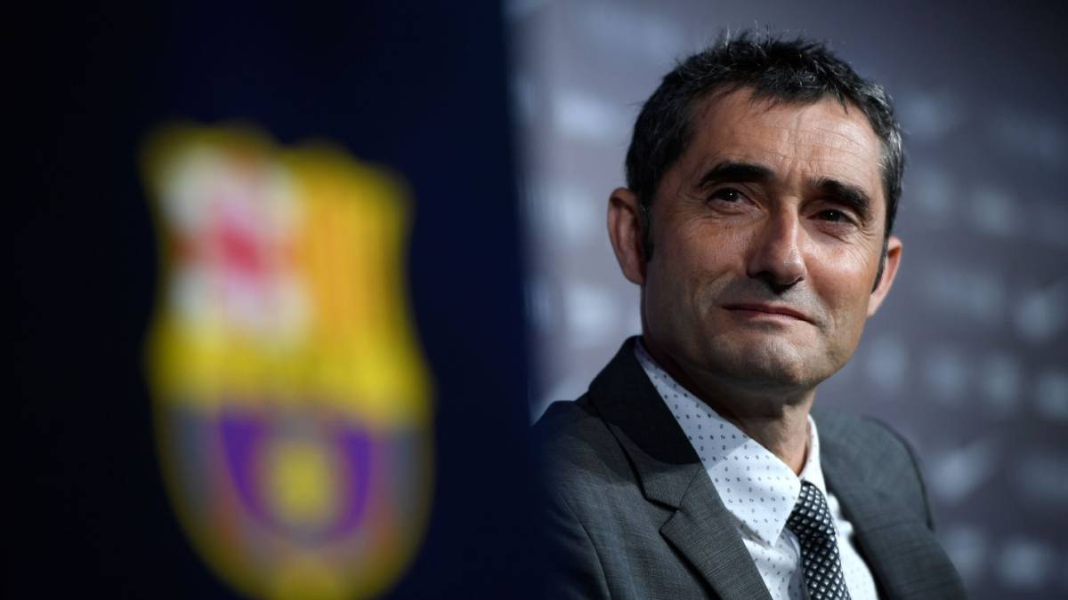 "Valverde unveiled: ""My ambition is to make Barça greater"""