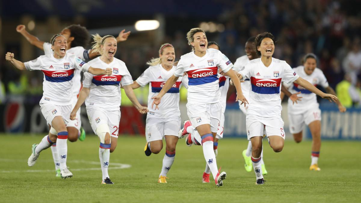 Lyon win 2017 Women's Champions League