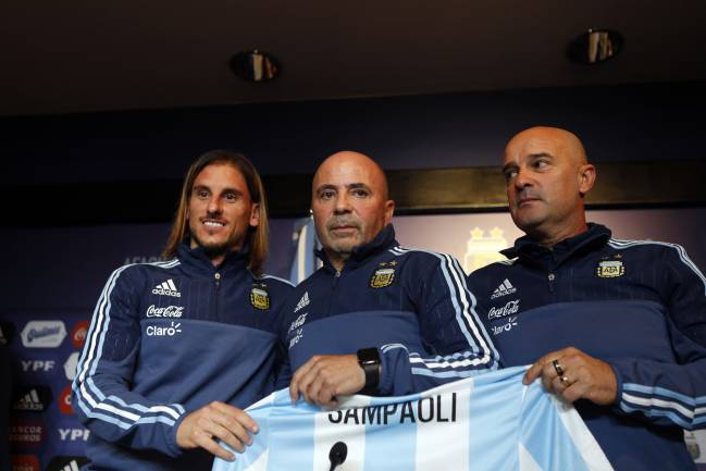 Jorge Sampaoli assumes Argentina national team.