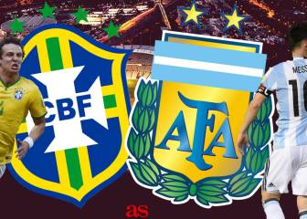 Brazil v Argentina: how and where to watch