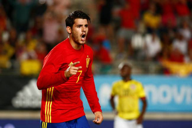 e22ff13886d12 Morata: Real Madrid centre-forward has to be Spain's No. 9 - AS.com