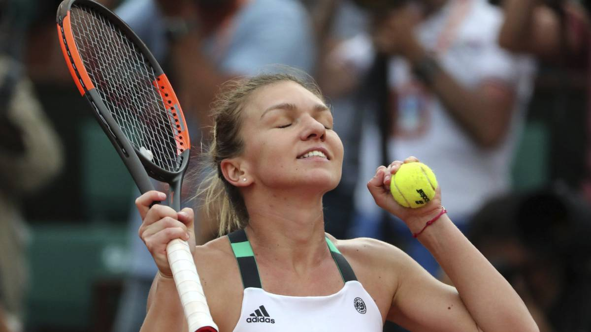 Halep outlasts Pliskova to reach second French Open final