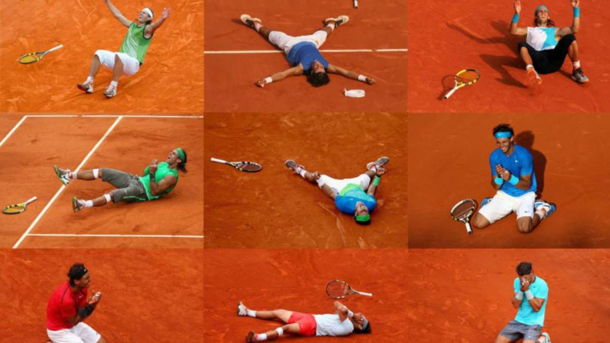 Rafa Nadal's perfect 10 at Roland Garros