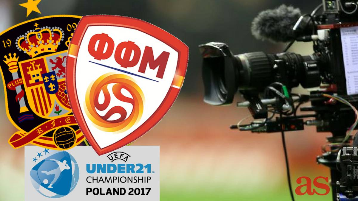 Spain U21 - Macedonia U21: how and where to watch - TV, online