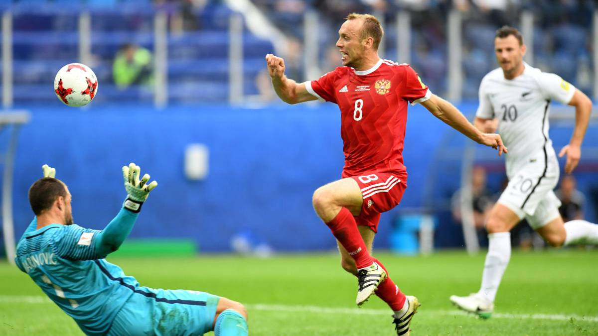 Russia vs New Zealand | Preview, live stream online build-up and coverage of the Confederations Cup Group A match at the Saint Petersburg Stadium. Kick-off 17:00.