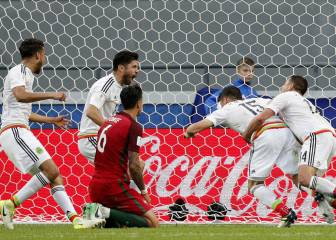 Late action sees Mexico nick a draw against Portugal