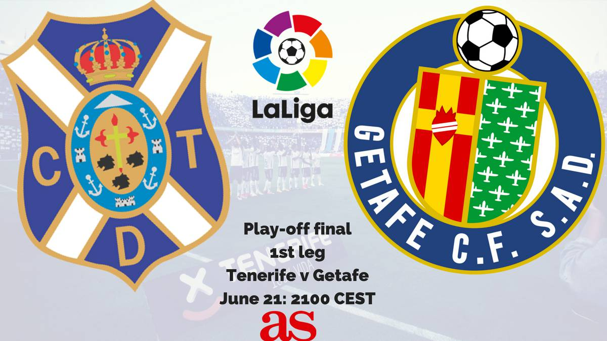 Tenerife's Heliodoro Rodríguez López hosts the first play off final, the game gets underway with a 2100 CEST kick-off on Wednesday on June 21.