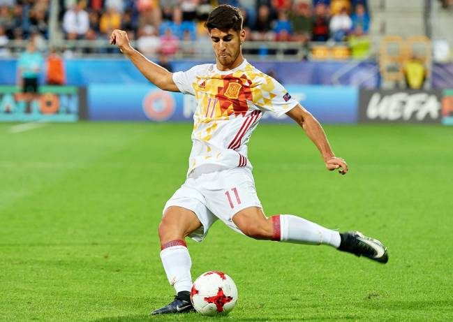 Marco Asensio: one of the stars of the U21 championships so far.