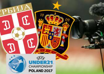 Serbia U21 - Spain U21: how and where to watch