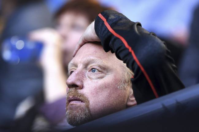 Archive photo: 31 January 2016, Boris Becker in Australia.