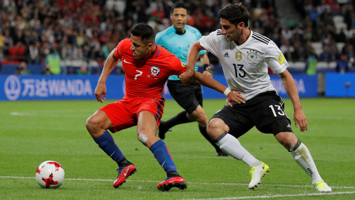Germany 1-1 Chile 2017 Confederations Cup: match report