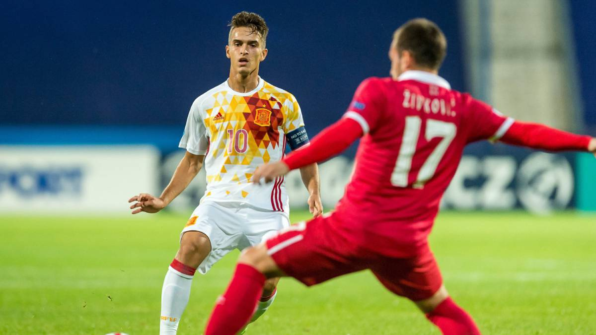 Serbia U21 0-1 Spain U21 European Championships: match report