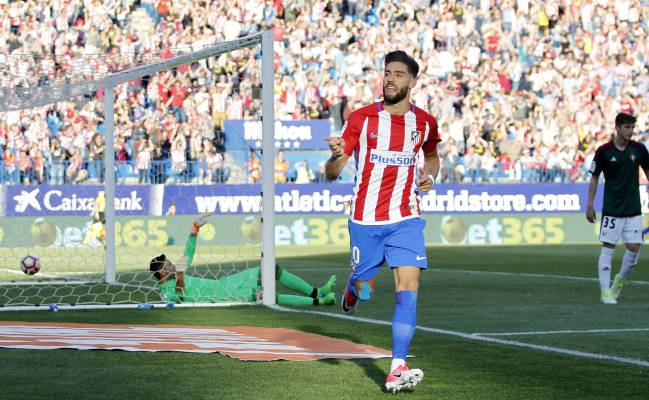 Carlo Ancelotti is an admirer of Yannick Carrasco, but Bayern Munich would have to part with €50m in order to prize him from Simeone's squad.