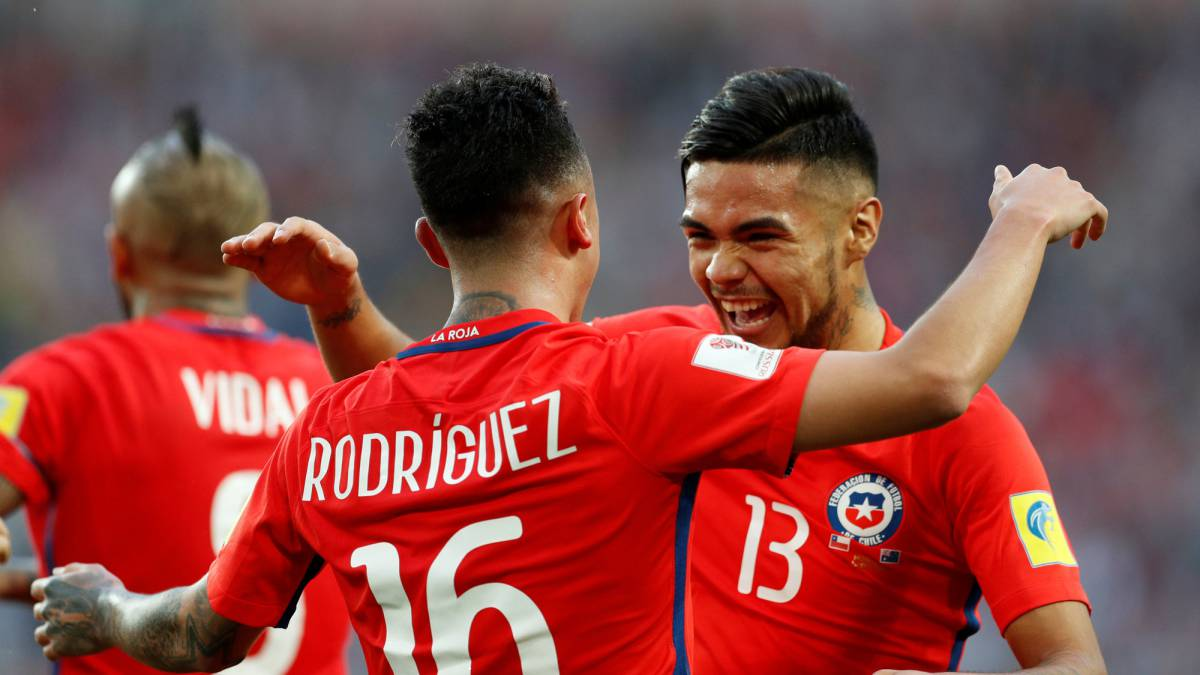 Chile-Australia live online: Confederations Cup, goals, as it happened