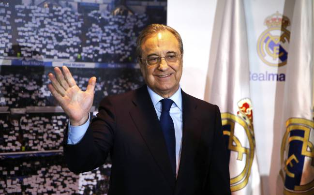 19/06/2017- Florentino Pérez, remains as president of Real Madrid.