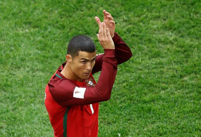 Portugal's Cristiano Ronaldo currently on national duty and still making many of the headlines.