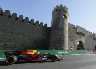 Red Bull's Ricciardo wins thrilling Azerbaijan Grand Prix