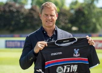 Frank de Boer named new Crystal Palace manager