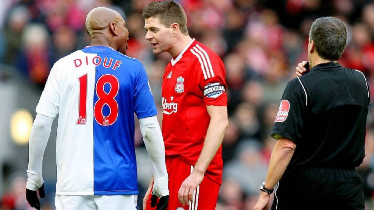 Gerrard: El Hadji Diouf reawakens dispute with ex-Liverpool captain