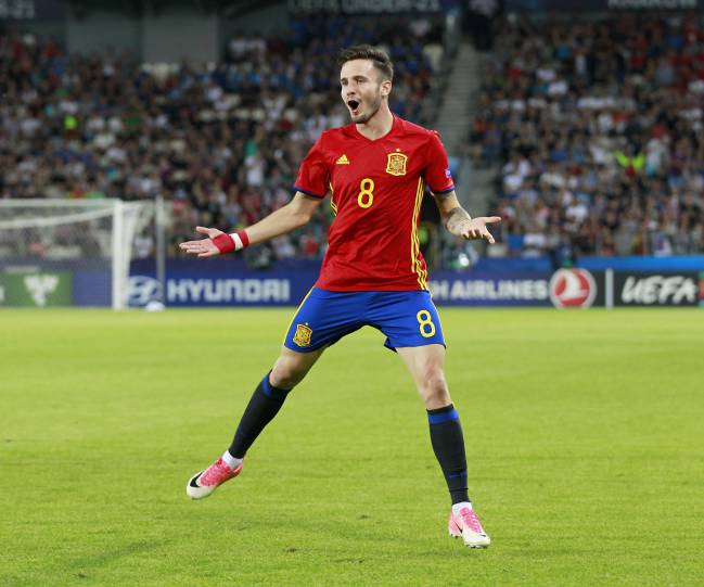 Atlético Madrid president Enrique Cerezo stated that Saúl Ñíguez will remain at the club, and also spoke about Costa, Ibrahimovic, and Theo Hernández.